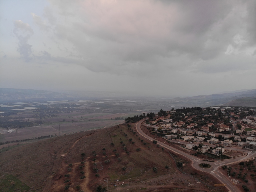 Jordan Valley and Golan Hills