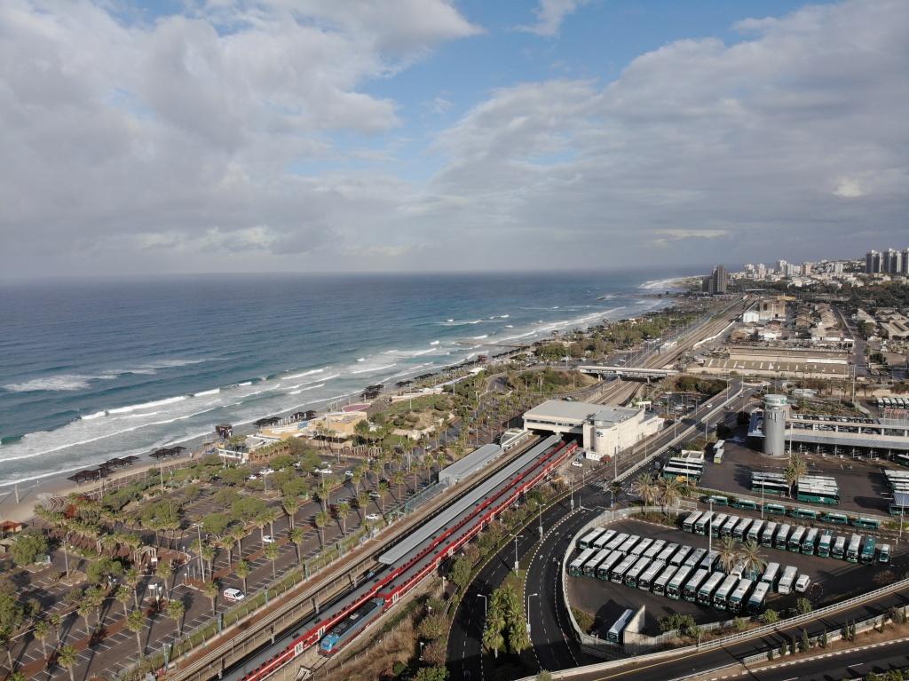 Carmel Beach at Haifa