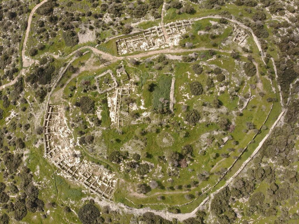 Khirbet Qayafa, Judea Hills near to Valey of Ellah