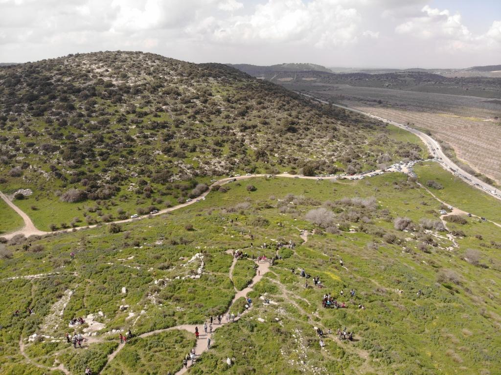Ancient Sukho, Valley of Ellah and Judea Hills, Israel